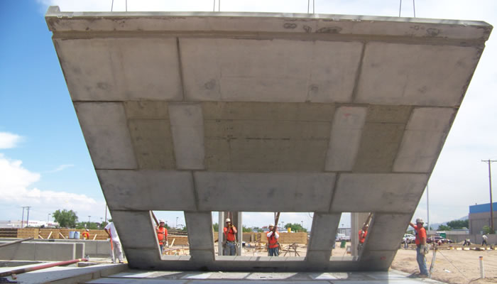 Concrete construction projects